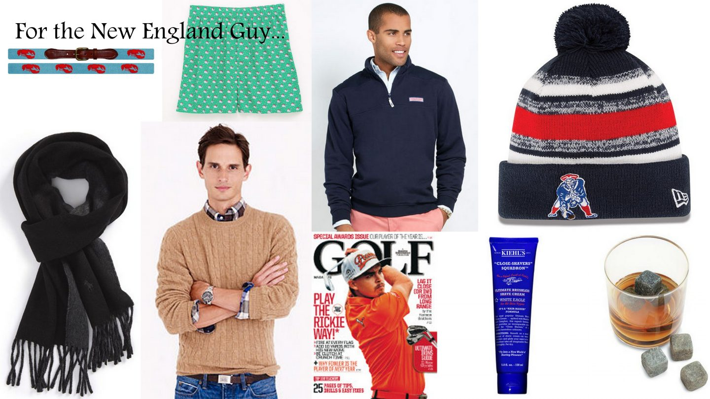 Holiday Shopping Guide: For The New England Guy