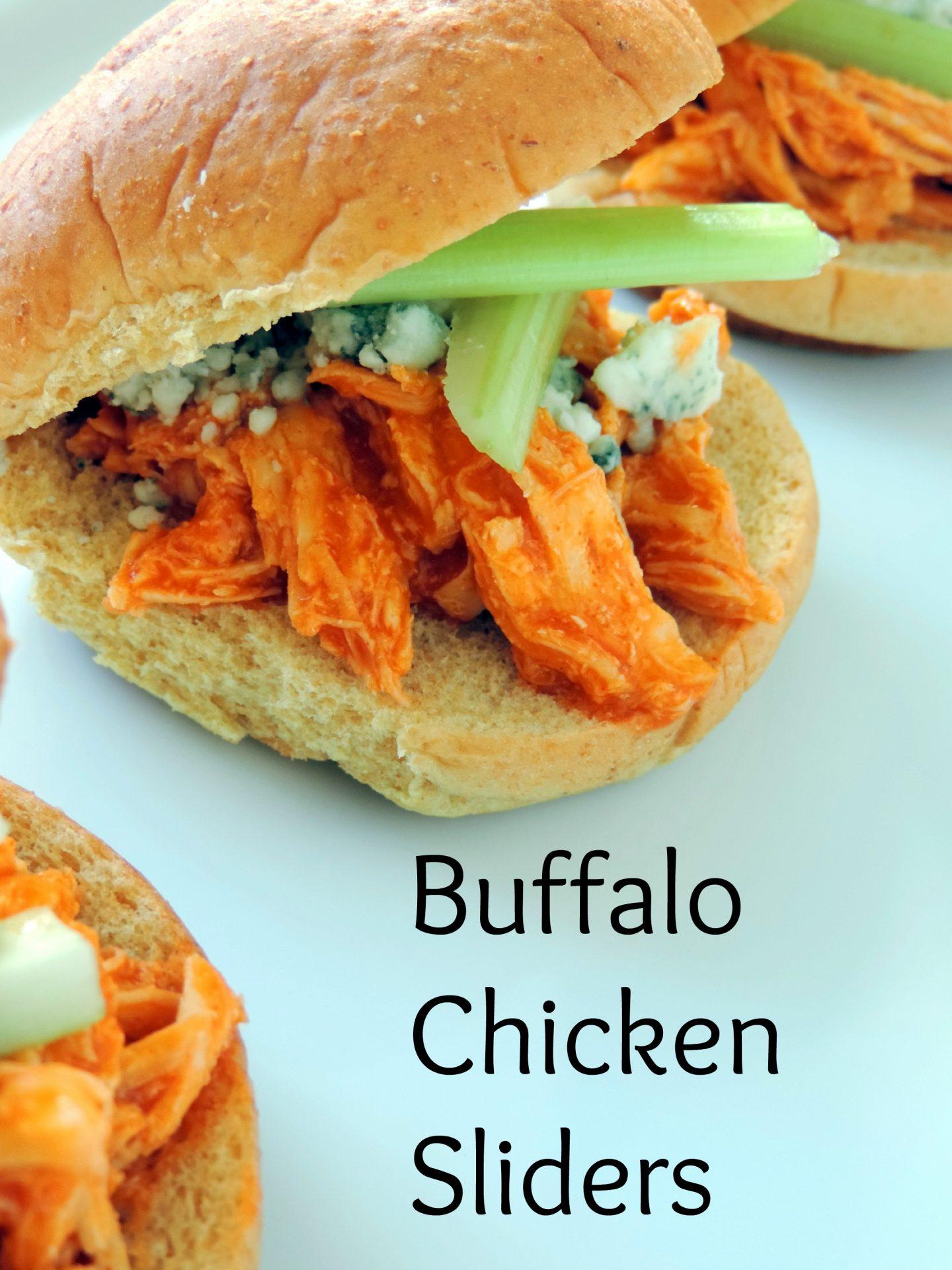 Buffalo Chicken Sliders