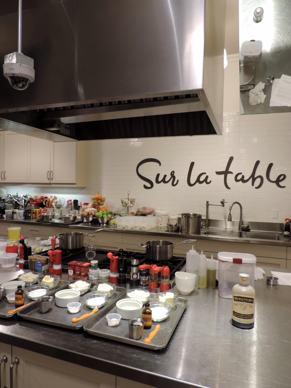 Sur La Table Cooking Class Boston Chic Party