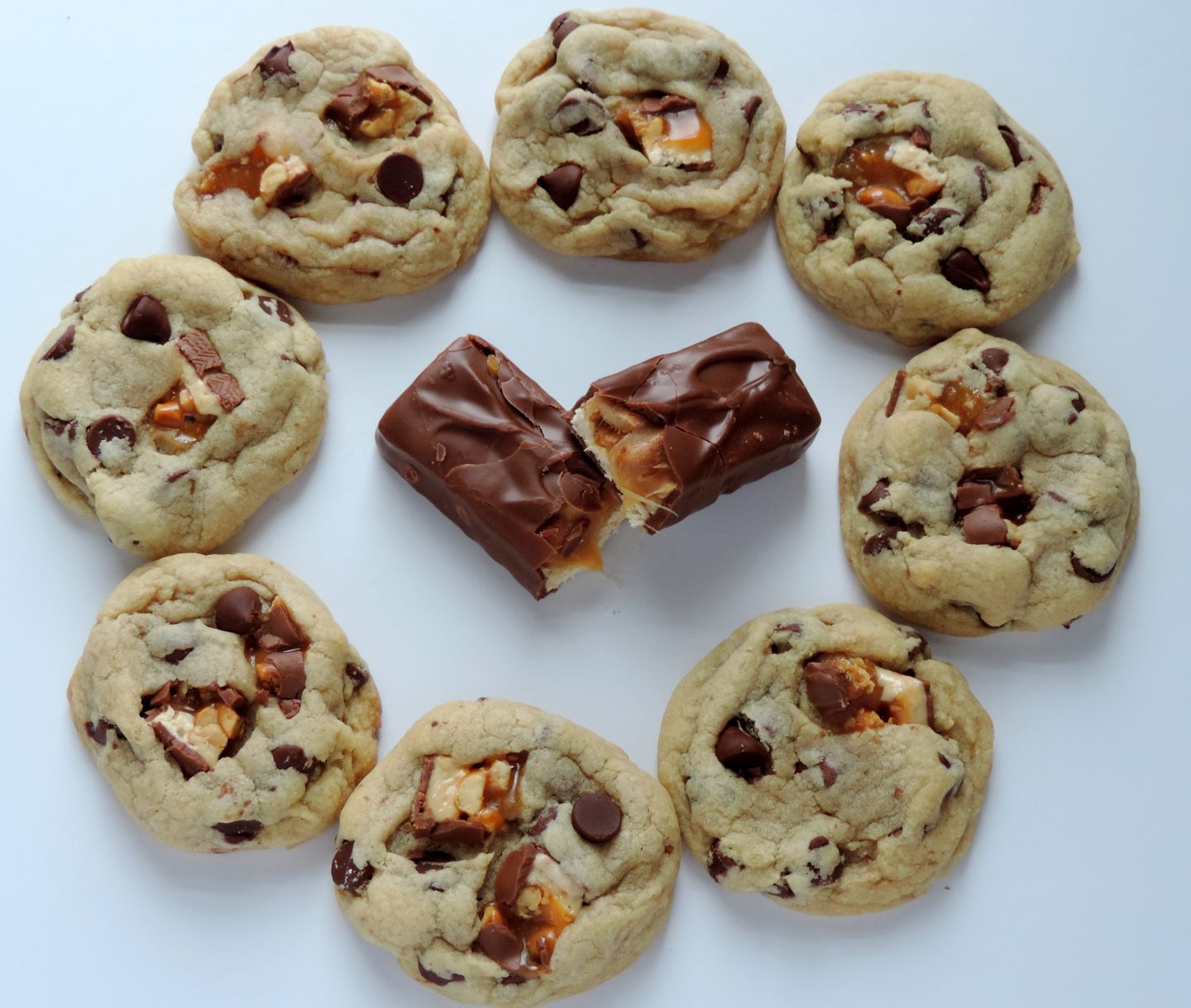 Snickers Chunk- Chocolate Chip Cookies