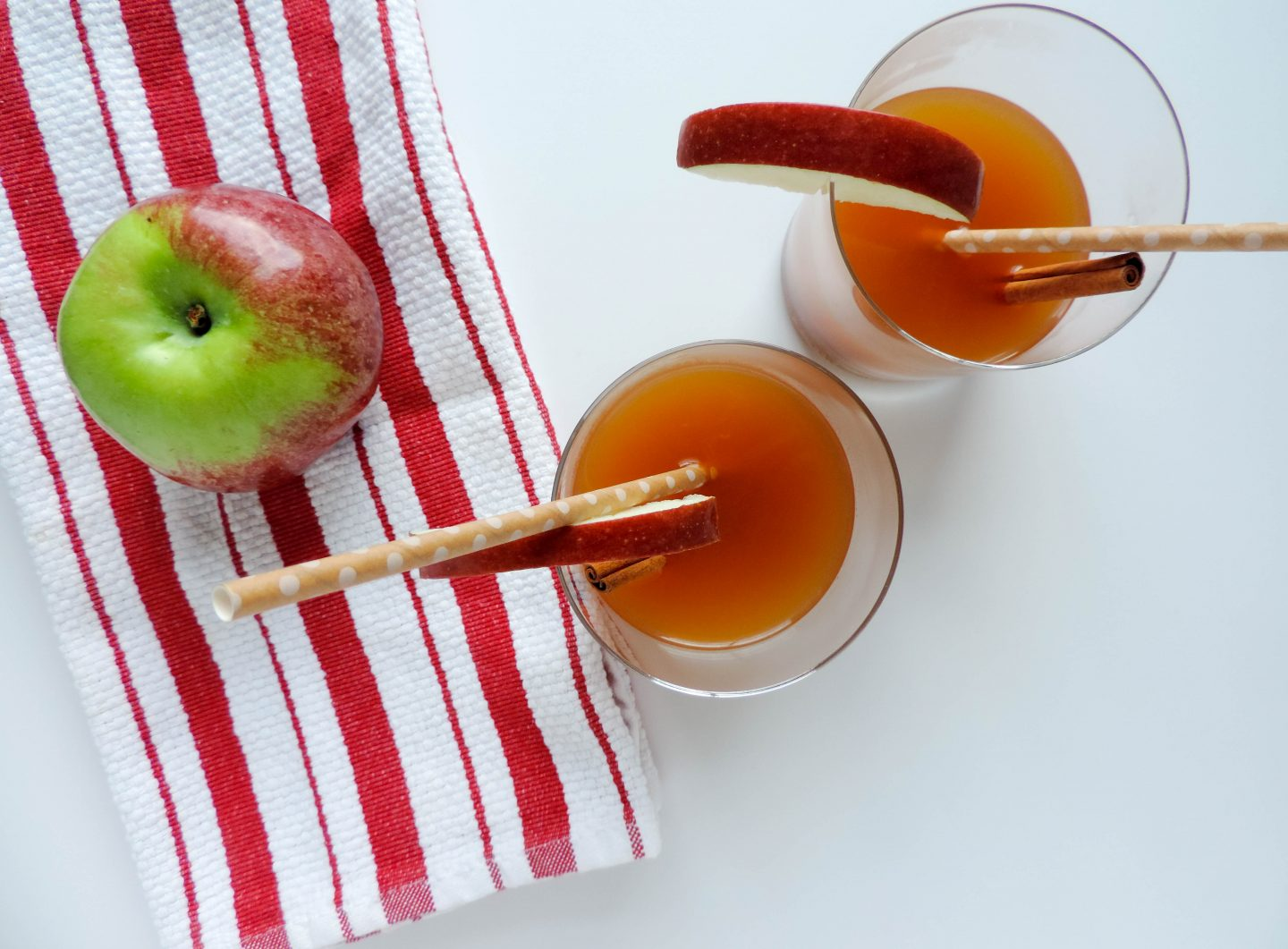 Apple Cider Hot Toddy With Oak by Absolut