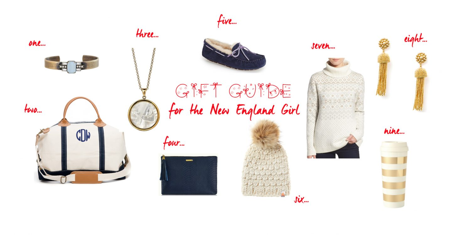 Gift Guide For The New England Girl