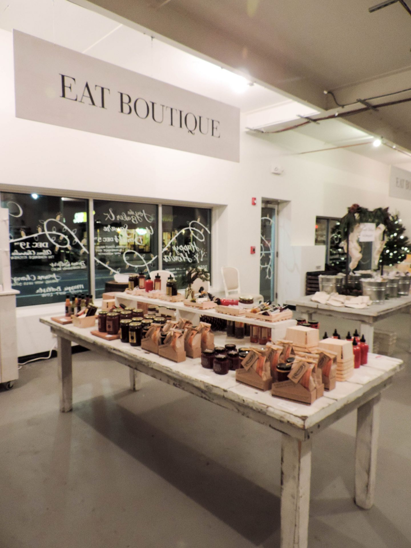 Boston Buzz: Eat Boutique Holiday Market