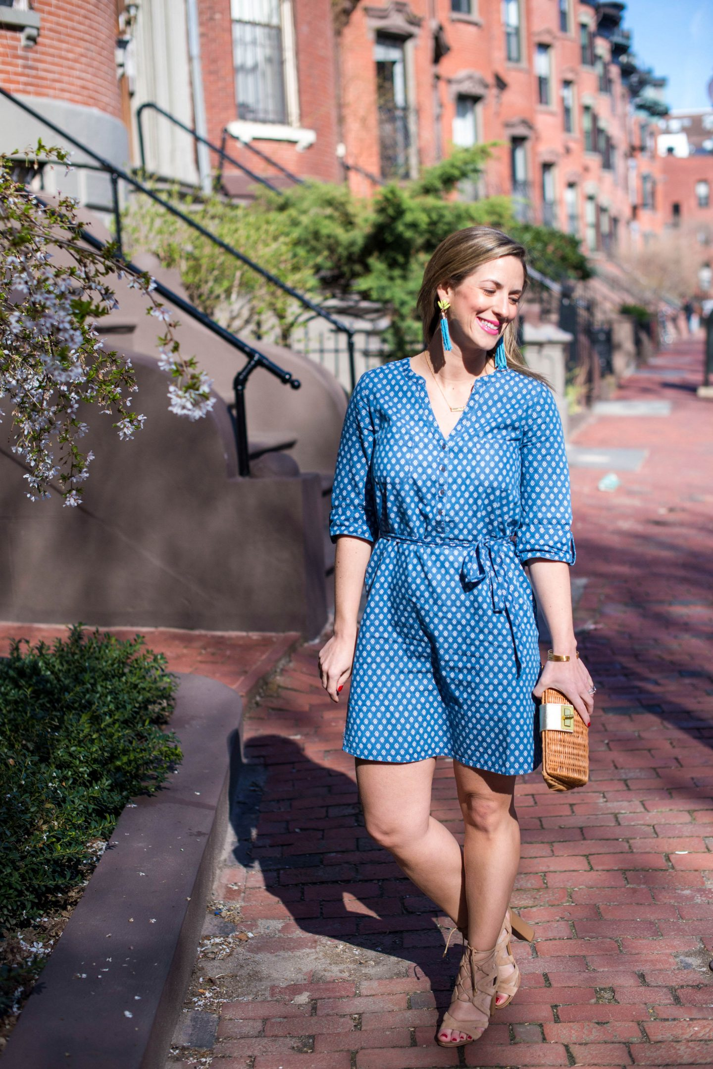 The Chambray Dress via FatFace
