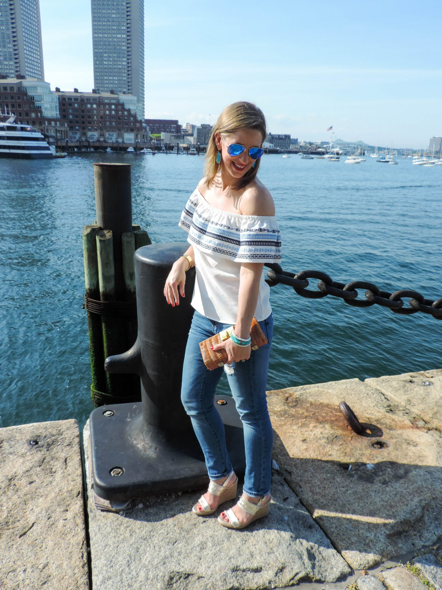 Off The Shoulder in the Seaport