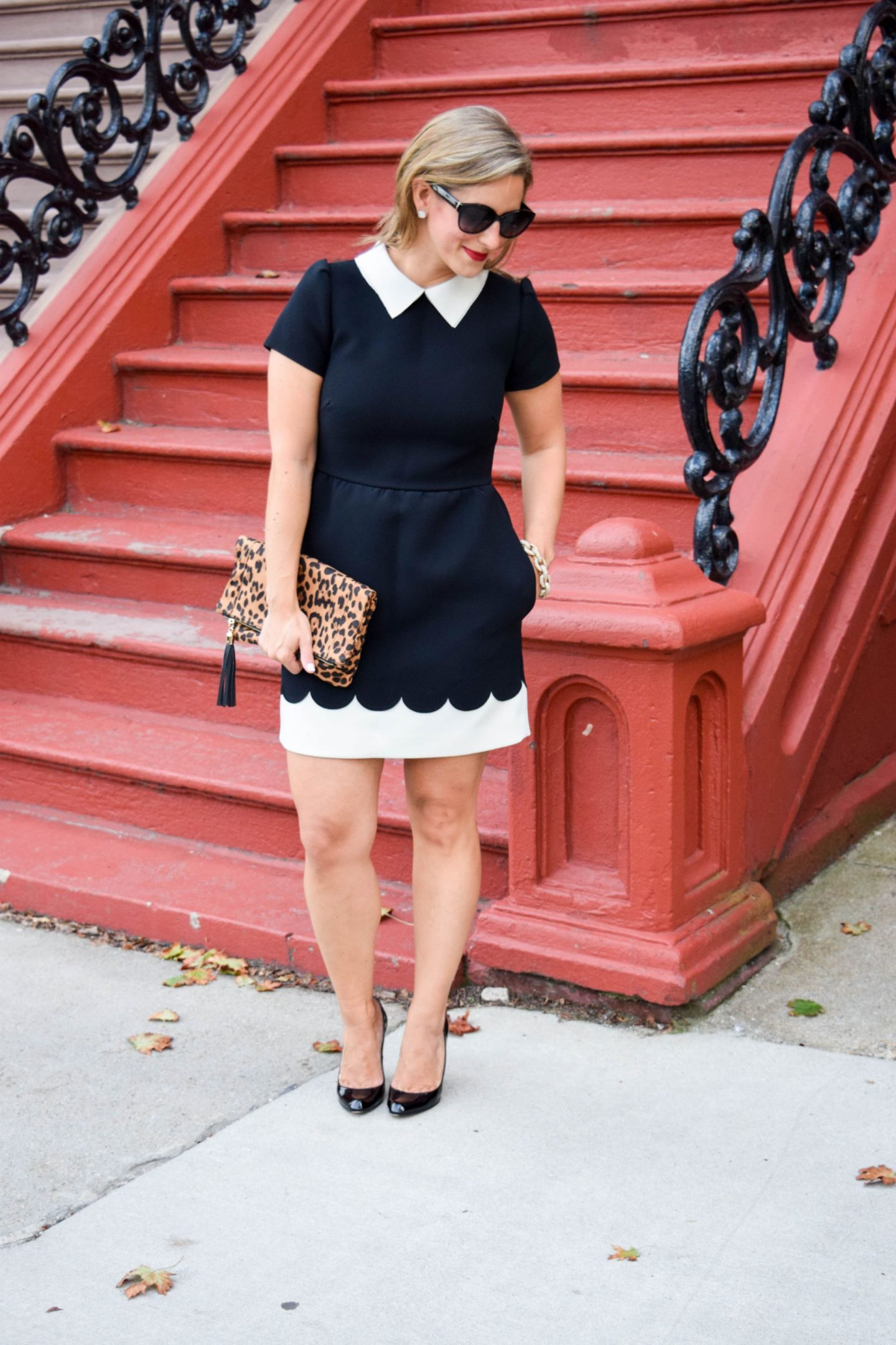 Black & White Birthday Dress