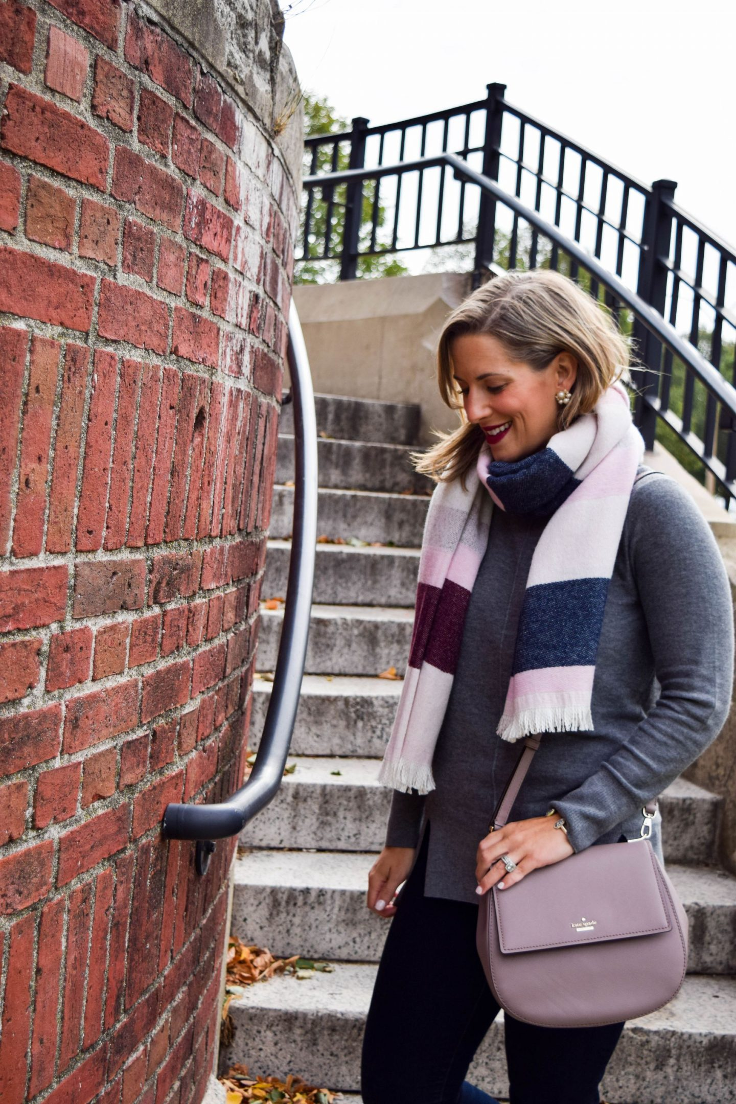 Blanket Scarf For A Cause: Talbots x National Breast Cancer Foundation