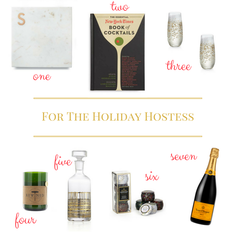 Gift Guide For The Holiday Hostess