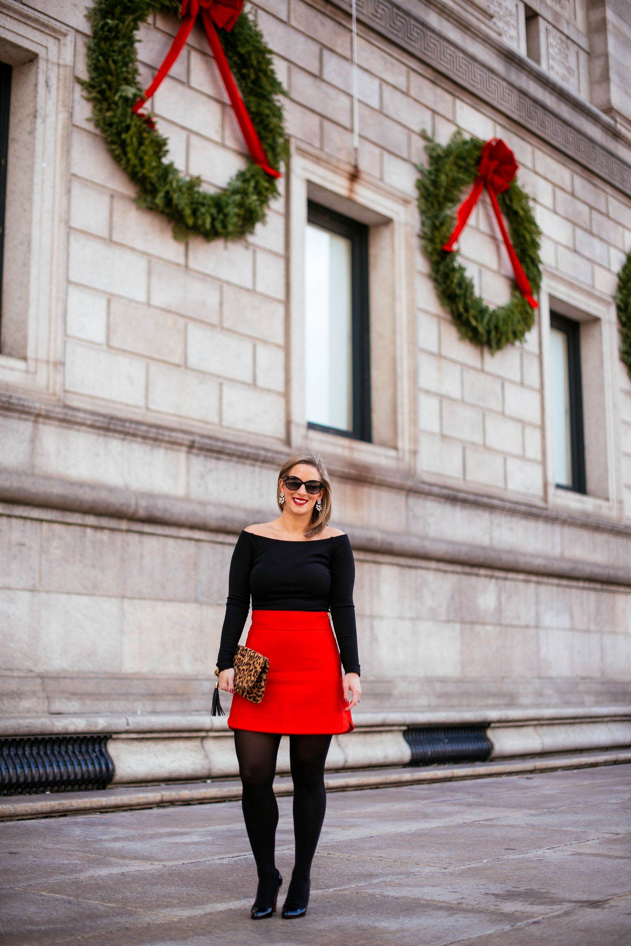 7b714d8bc0 red-christmas-skirt-j-crew-double-serge-wool-mini-skirt-boston-chic-party-10