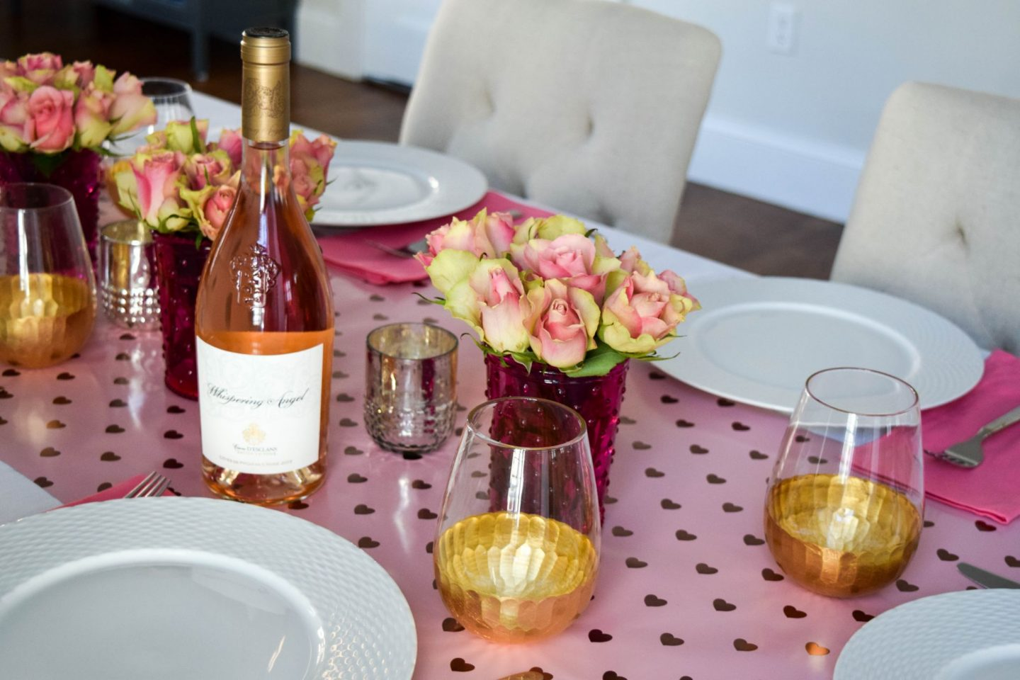 Roses and Rosé Galentine's Day Brunch
