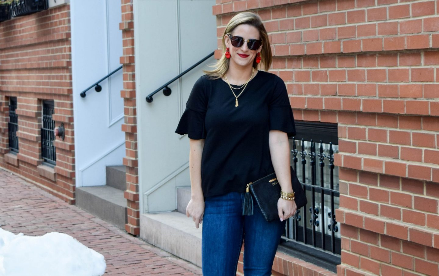 Accessorizing A Black Tee