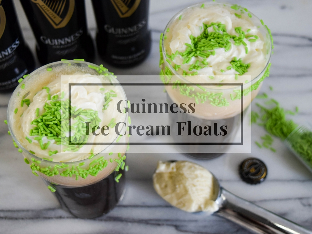 Guinness Ice Cream Floats