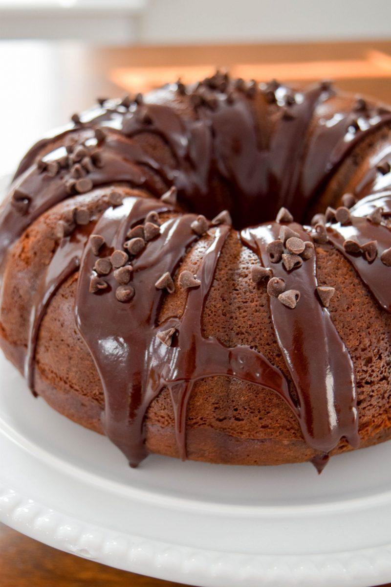 Triple Chocolate Cake England