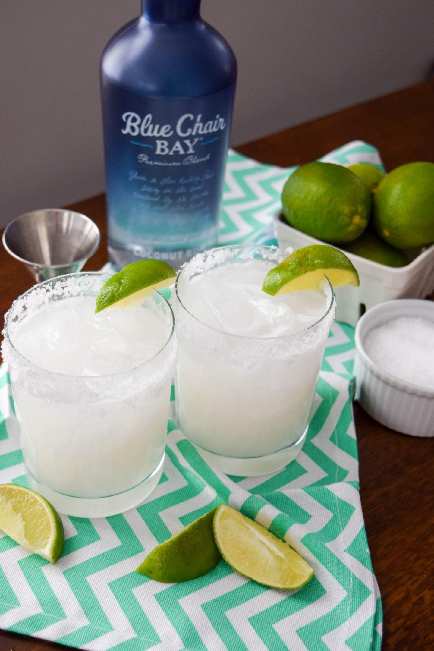 Coconut Rum Margaritas