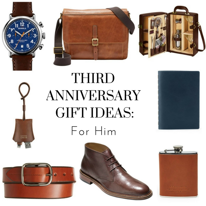 Third Anniversary Gift Ideas