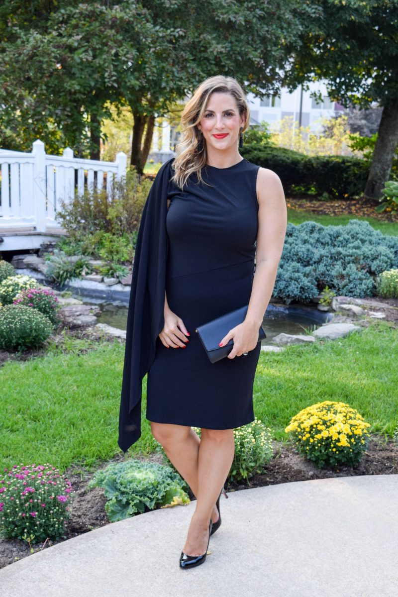 Why You Need a Cape Dress For Wedding Season - Boston Chic Party