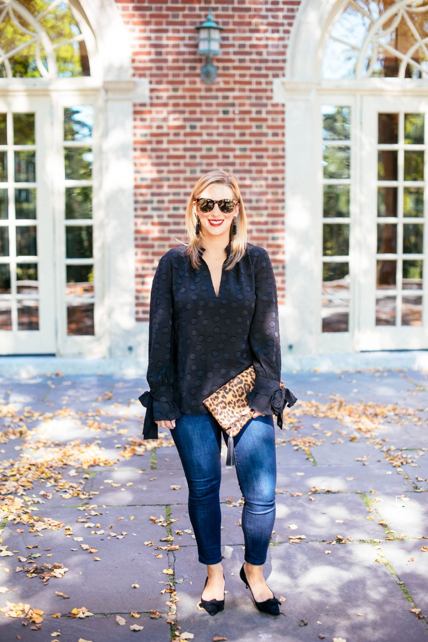 Bows, Dots, Leopard And How To Mix Patterns Subtly