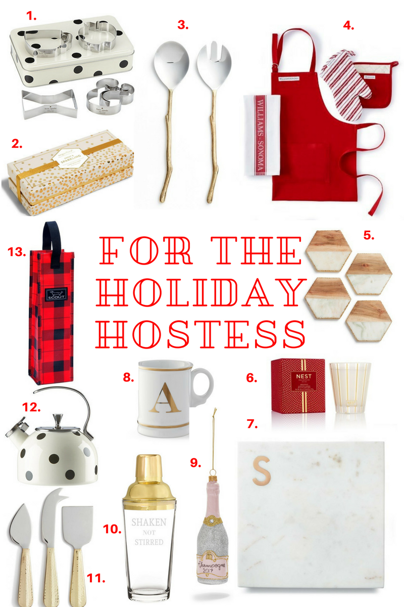 Gift Guide- For The Holiday Hostess