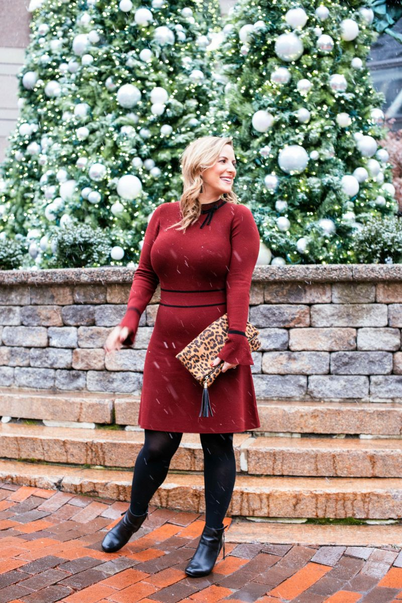 Draper James Sweater Dress And A Baby Bump Sighting