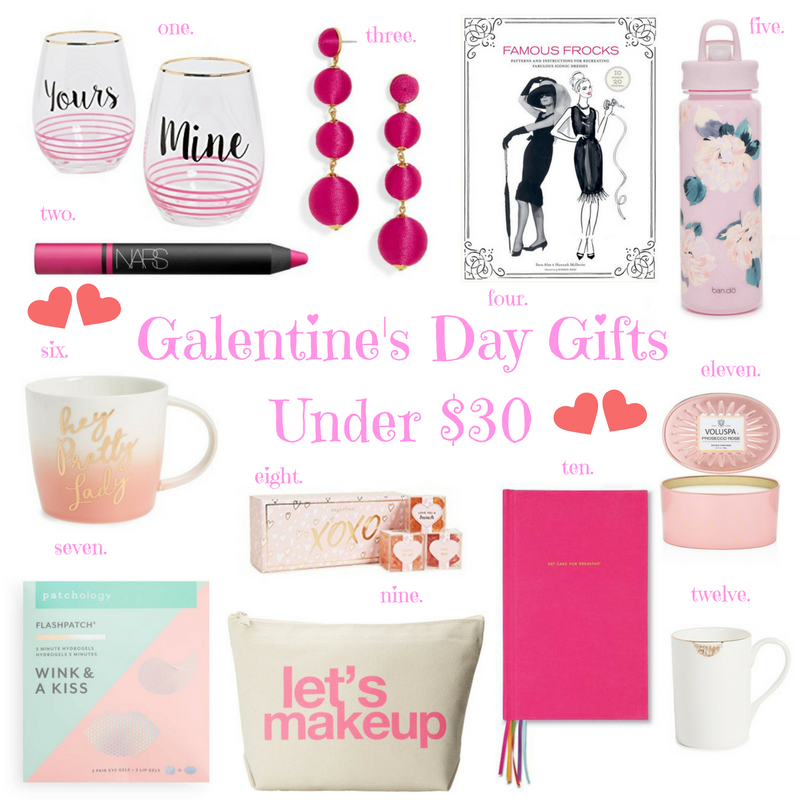 Galentine's Day Gifts Under $30