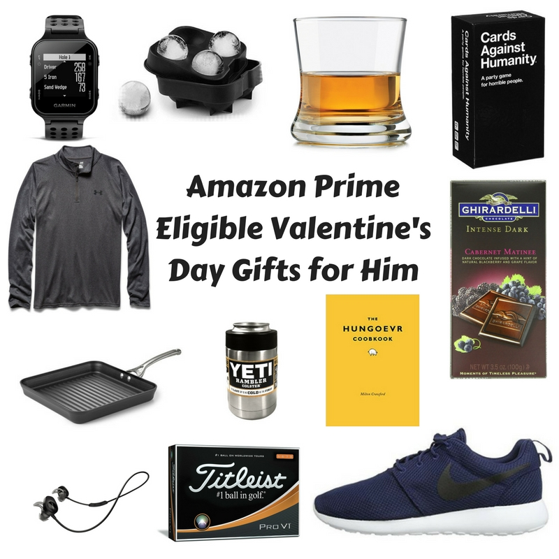 Amazon Prime Eligible Valentine's Day Gifts for Him
