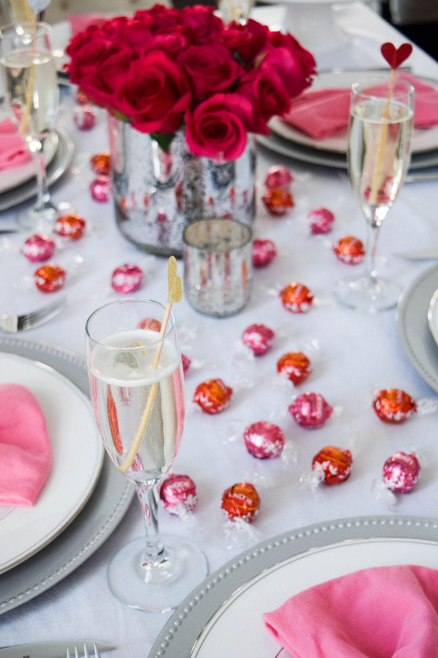 A Chocolate and Champagne Galentine's Day Brunch with Lindt LINDOR Truffles