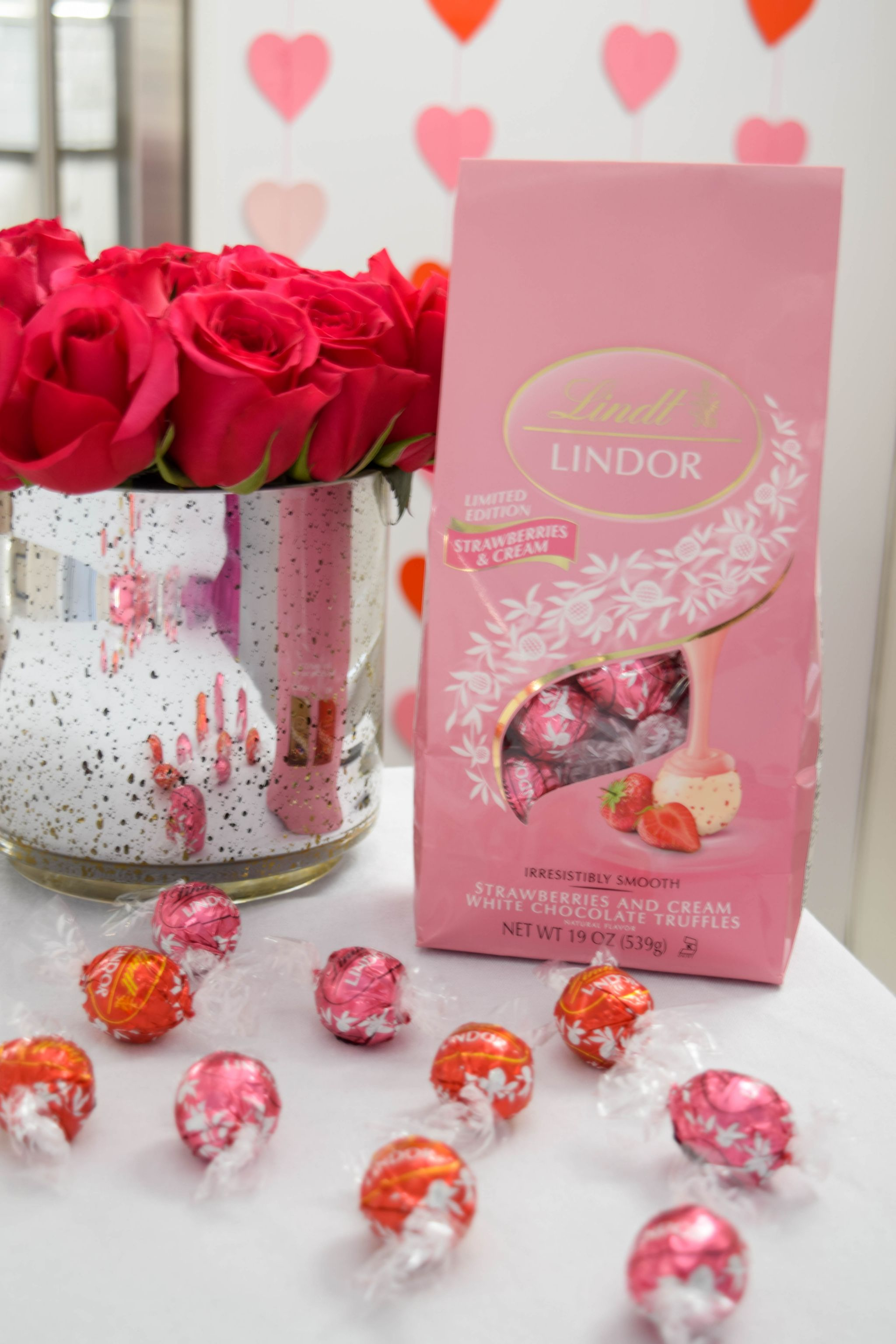 Champagne Chocolate Galentine S Day Brunch With Lindt Lindor Truffles Pink Party Decor Ideas Boston Chic 26