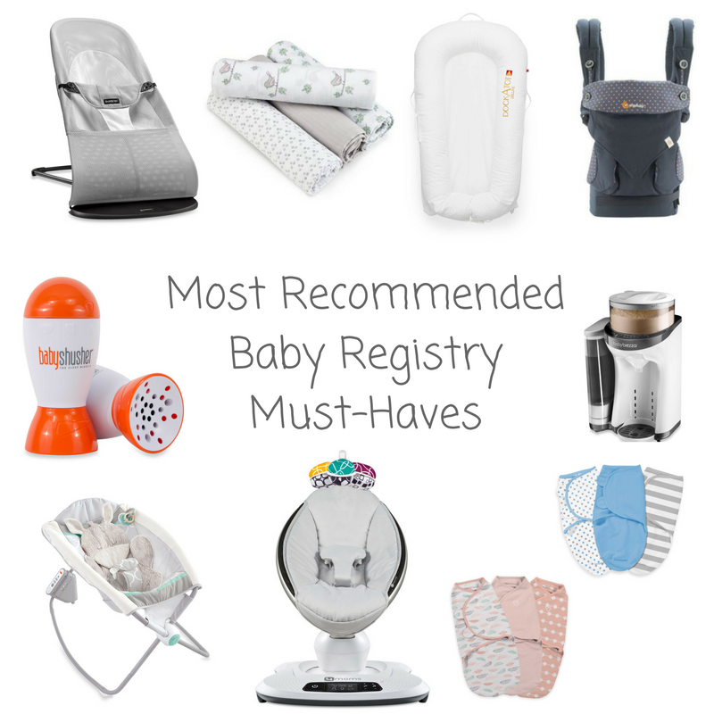 Most Recommended Baby Registry Must Haves