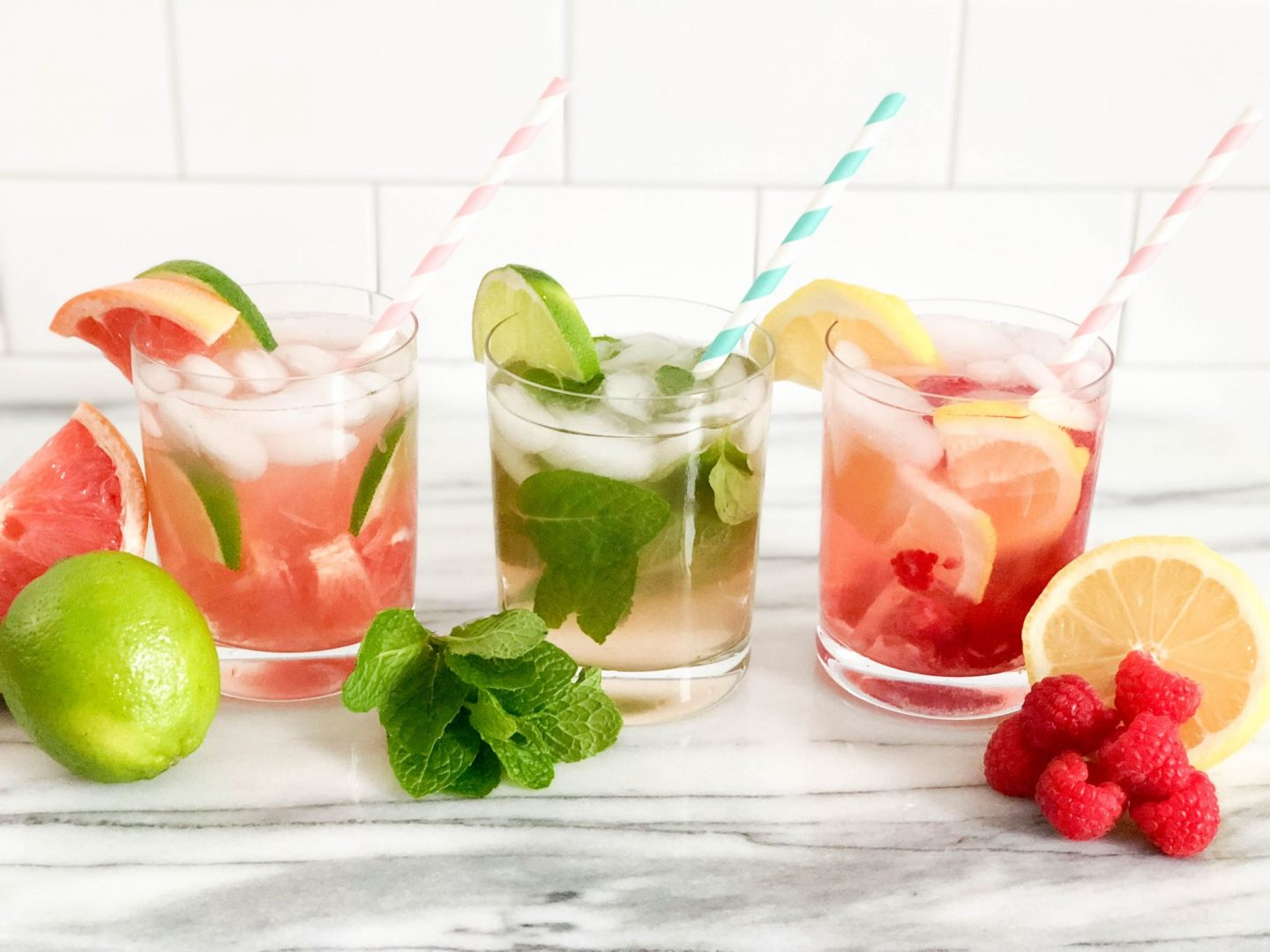 Three Refreshing Mocktails with Purity Organic