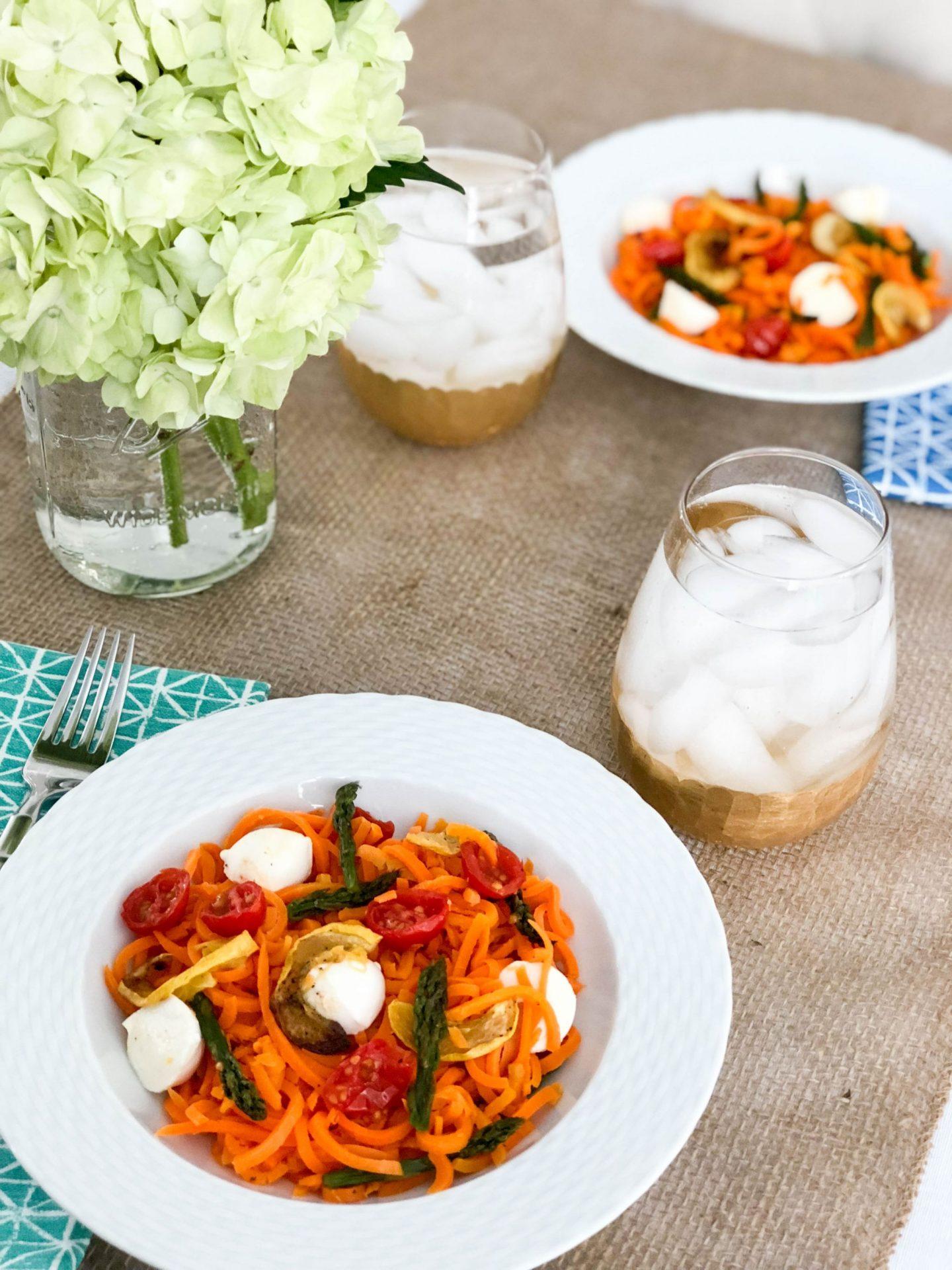 """Spring """"Pasta"""" Primavera With Green Giant® Veggie Spirals™"""