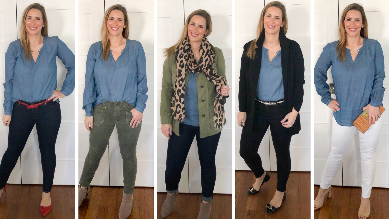 Five Ways To Wear Chambray