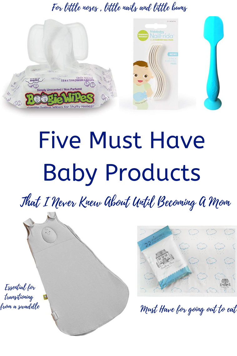 "Five ""Must Have"" Baby Items That I Never Knew About"
