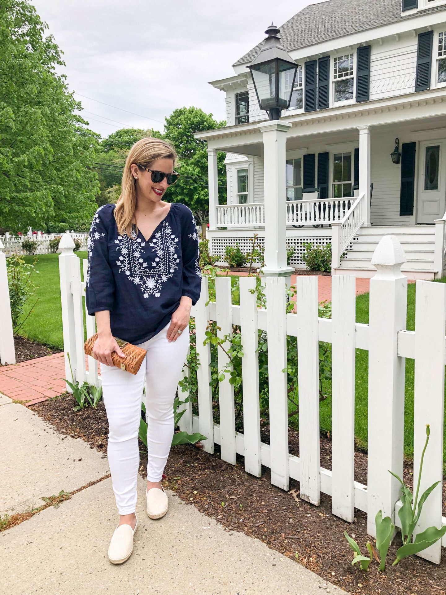 In The Navy With Talbots- And Our Summer Plans