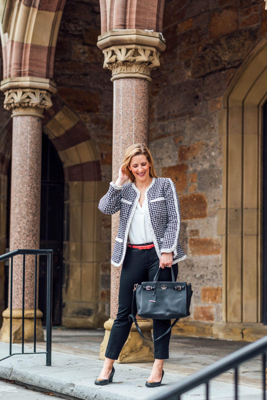 Work To Weekend- Rebecca Taylor Tweed Jacket