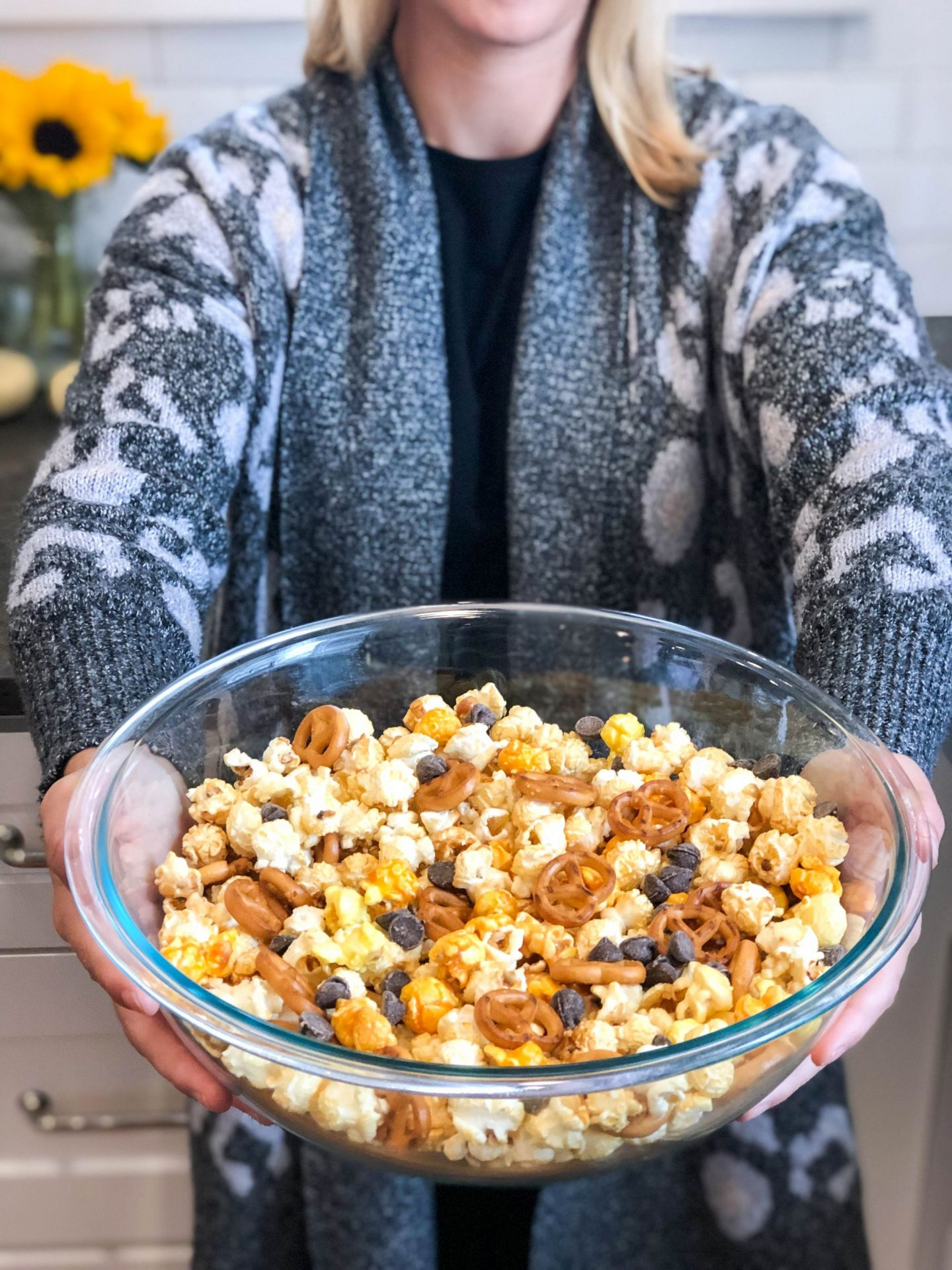 Trader Joe's Halloween Popcorn Mix and Five Not Scary Halloween Movies To Watch
