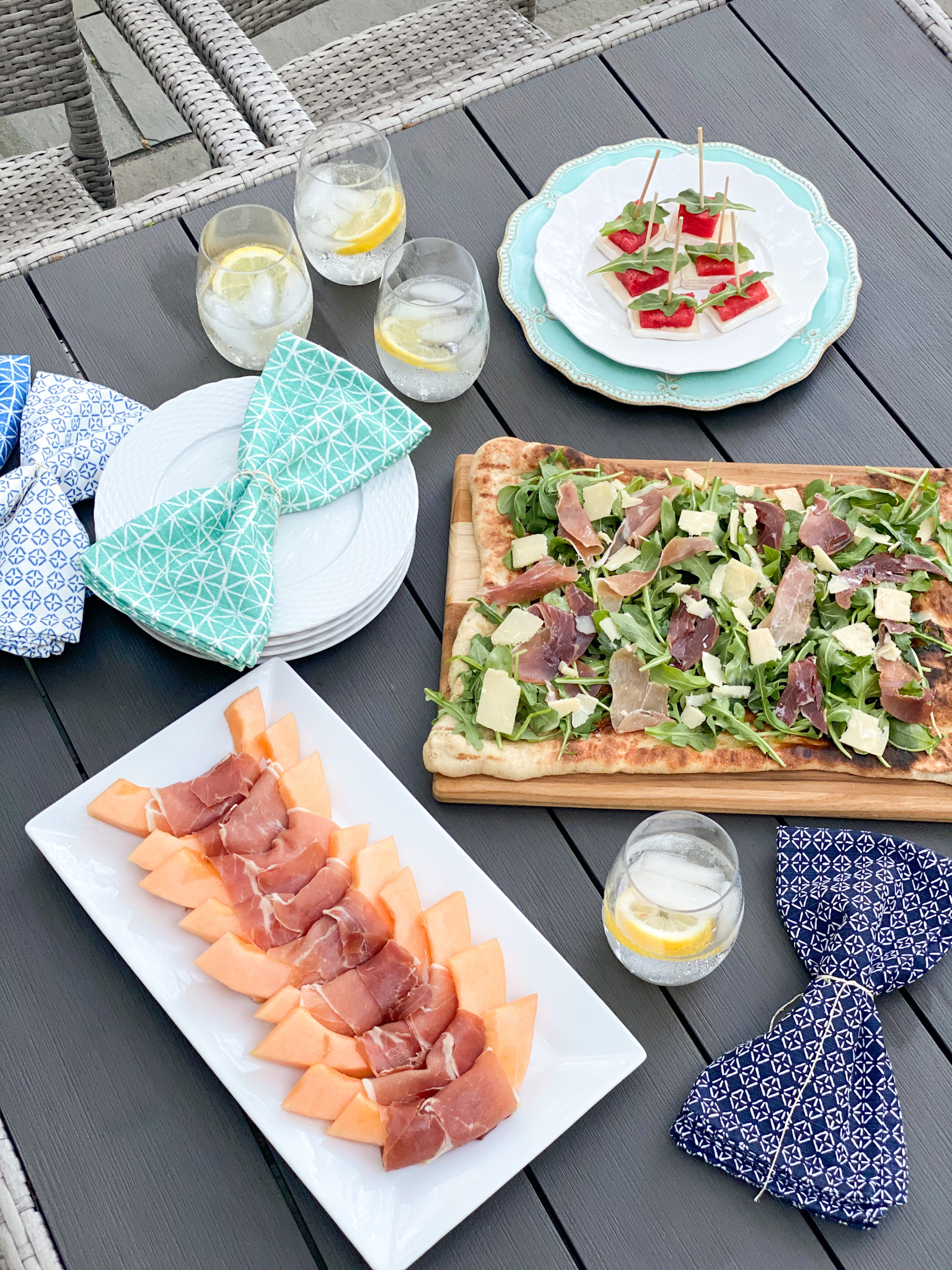 Three Easy Italian Inspired Summer Appetizers with Primo Taglio and Shaw's Supermarket