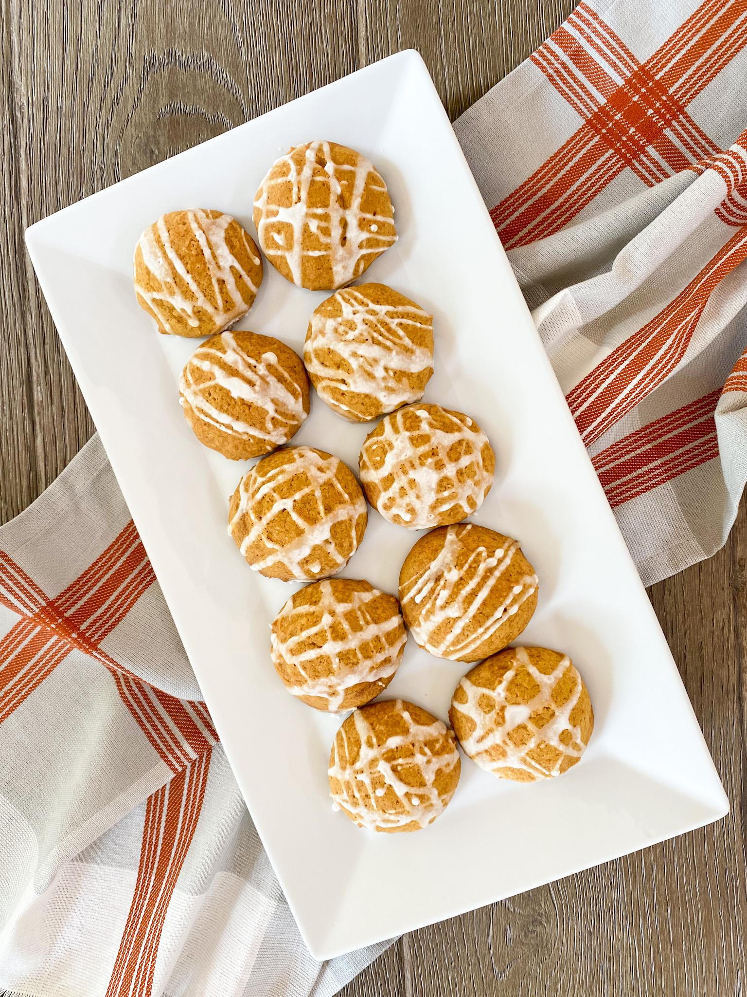 Super Soft Pumpkin Cookies