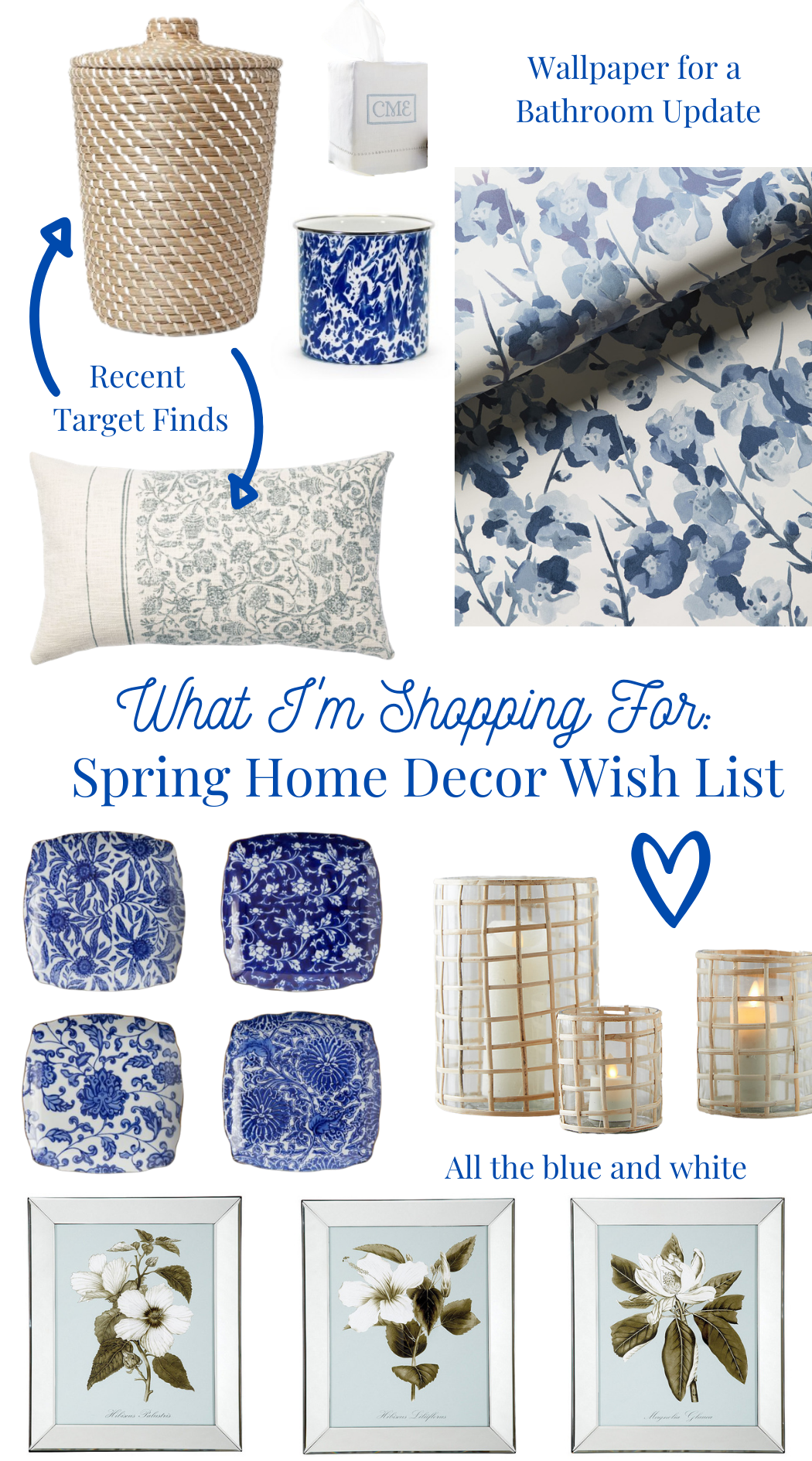 Spring Home Decor Purchases