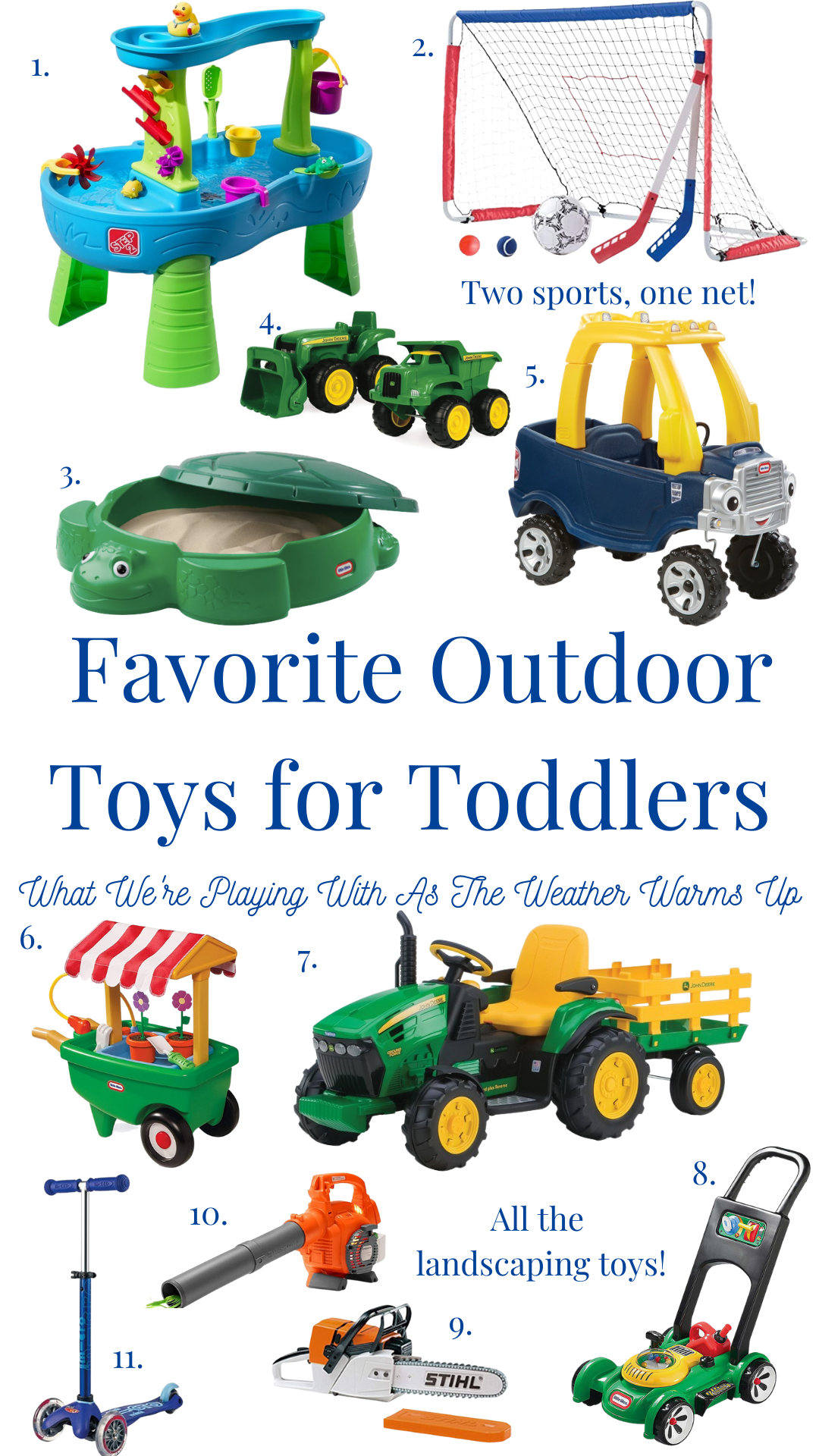 Our Favorite Outdoor Toys for Toddlers
