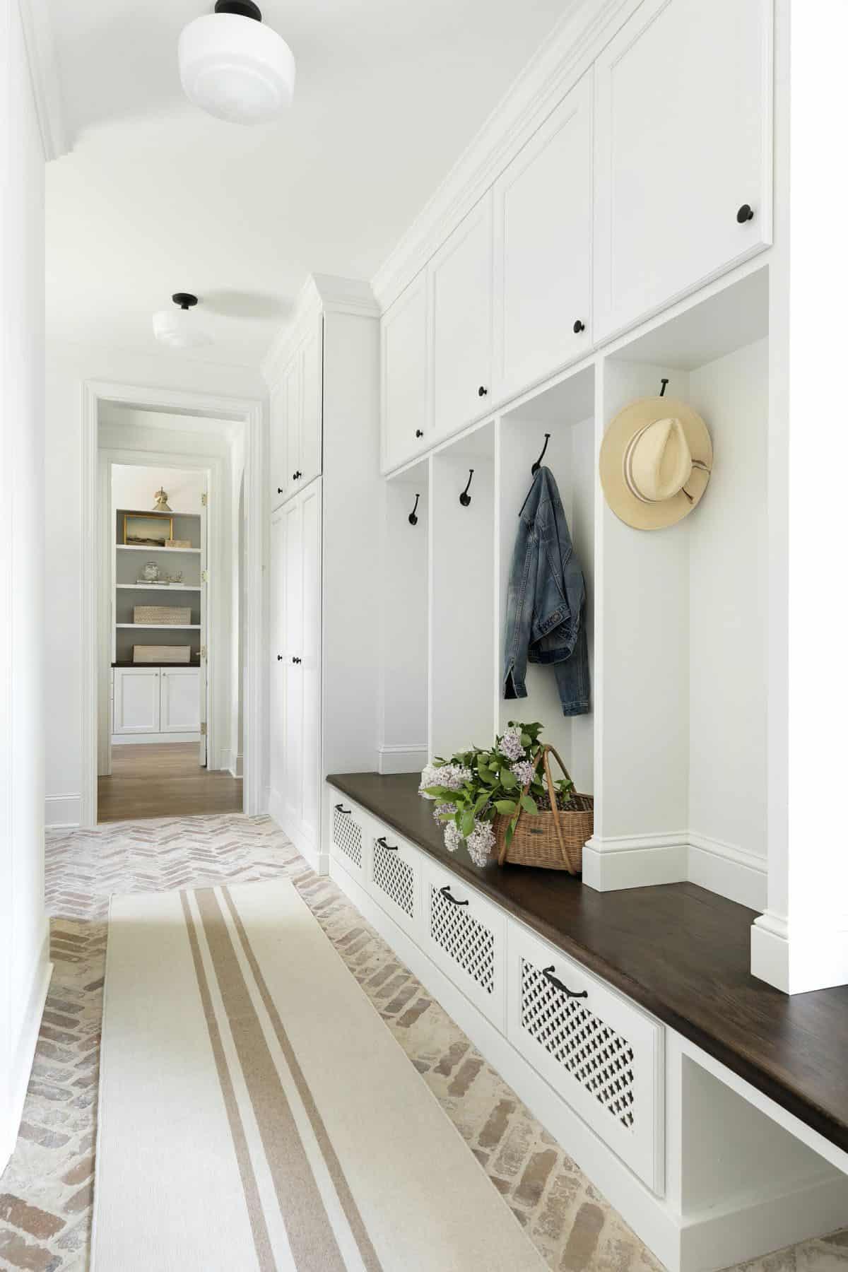 Mudroom Renovation and Half Bath Addition Inspiration